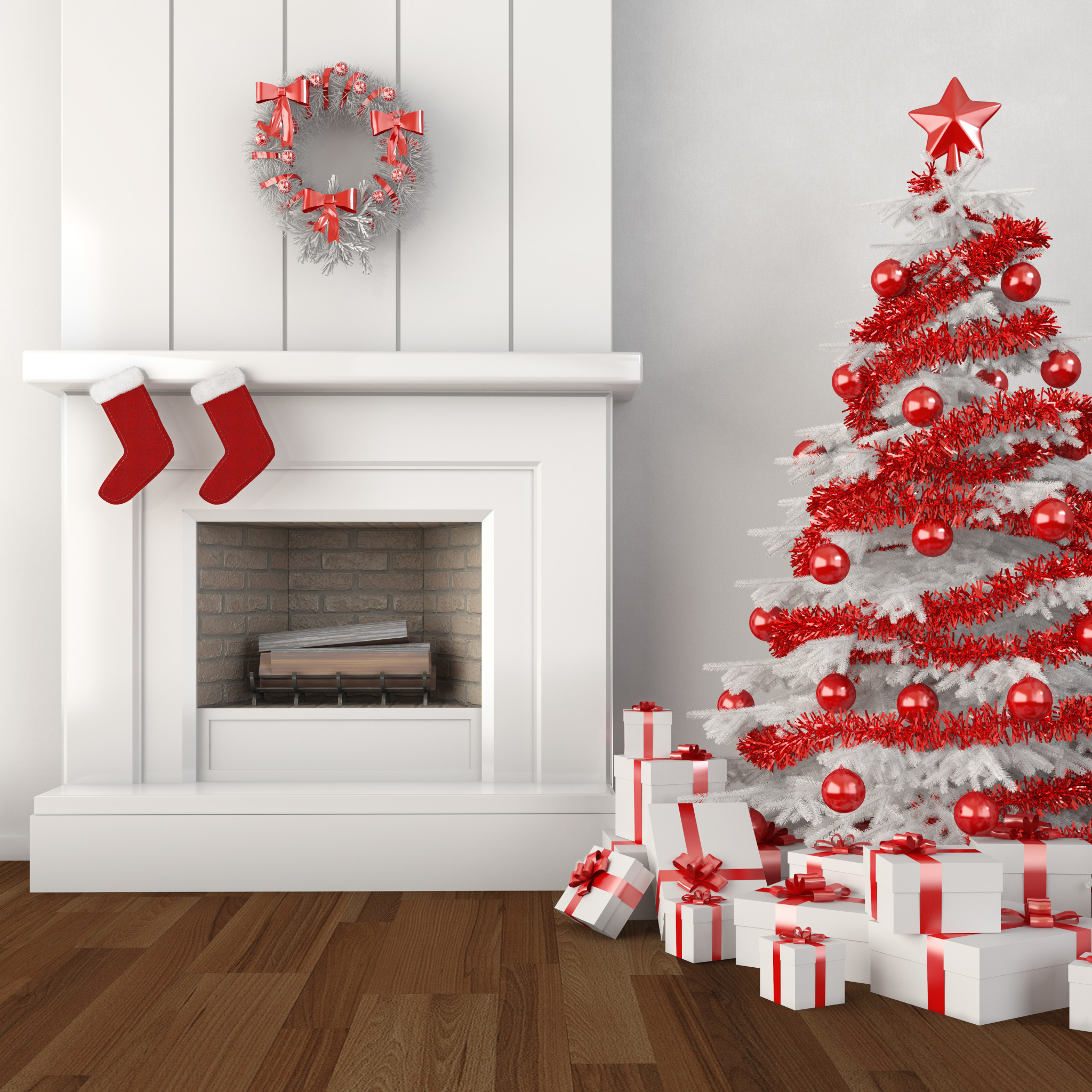 christmas tree decorations - HD2124×1721