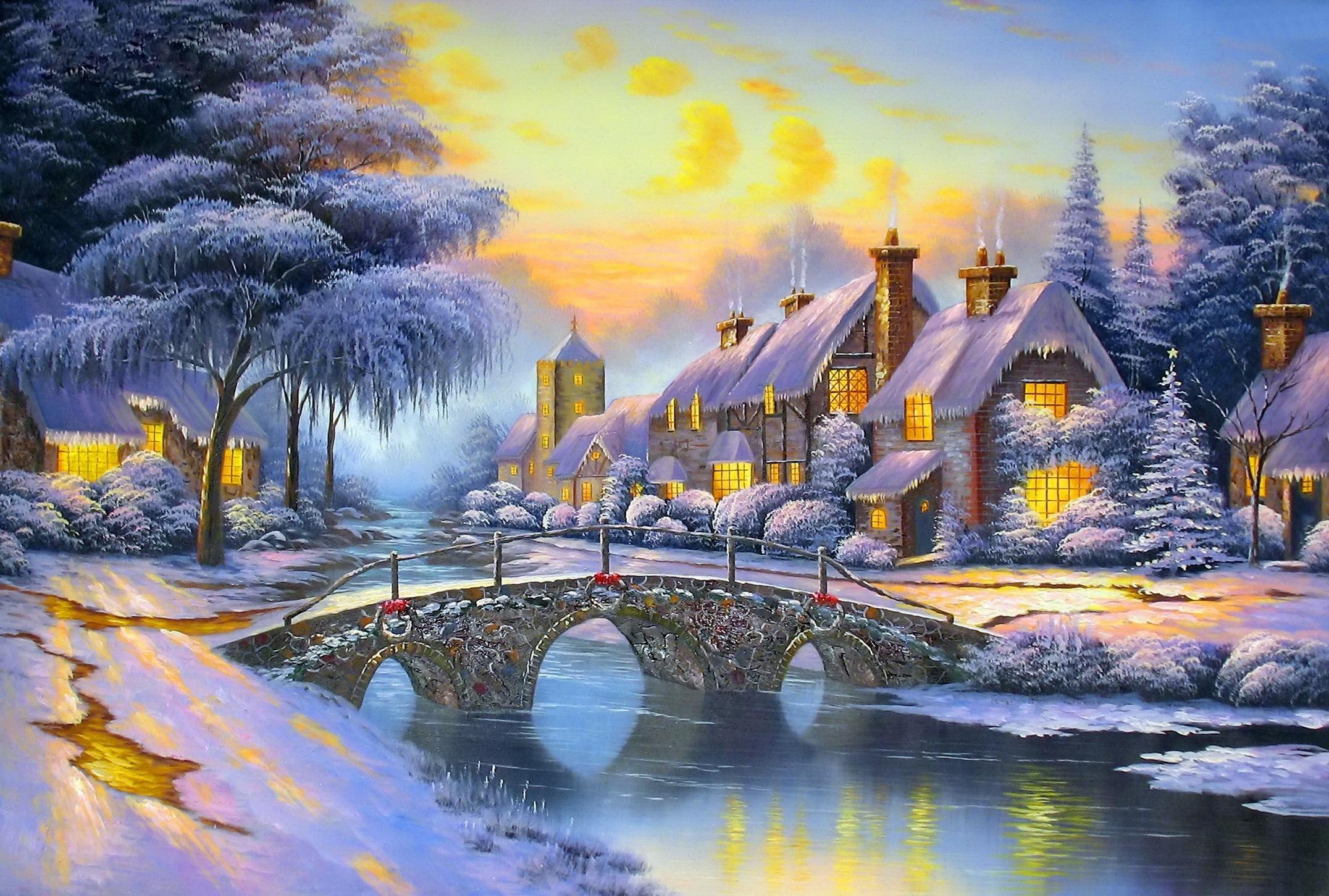 смотреть сказочные картинки зимние главное