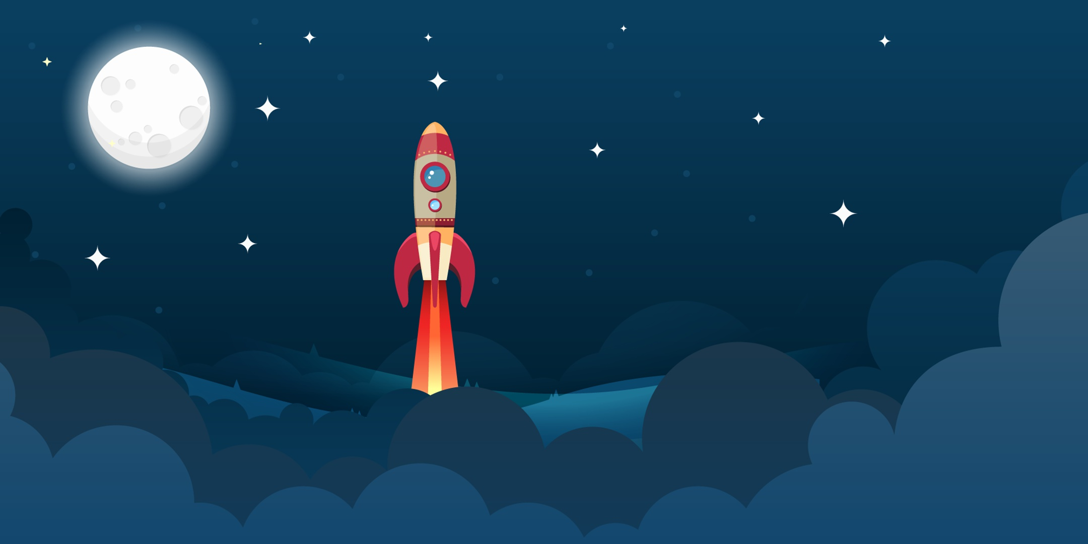 космос ракета звезды картинки авторские обои так