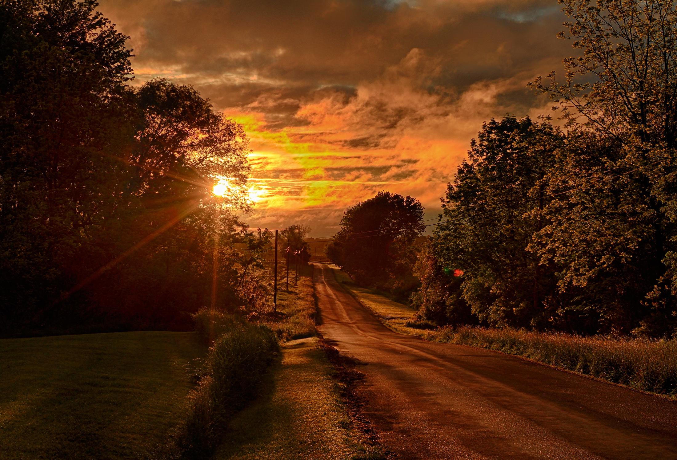 психологически красивые картинки дороги и закат рекомендуют