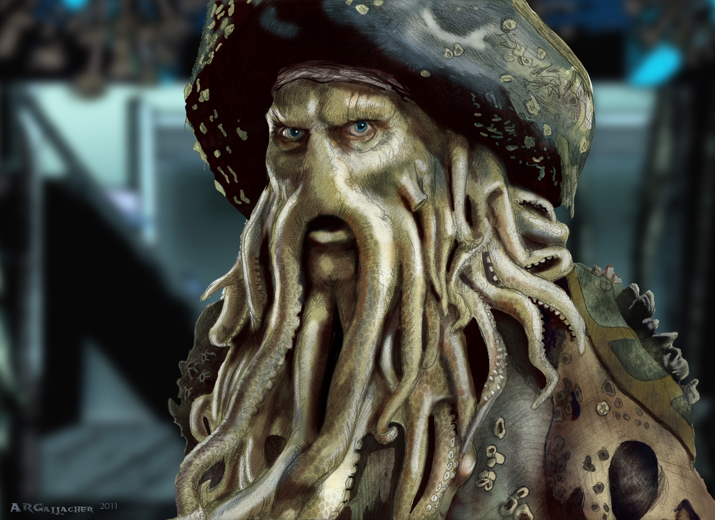 the life and leadership of davy jones in pirates of the caribbean