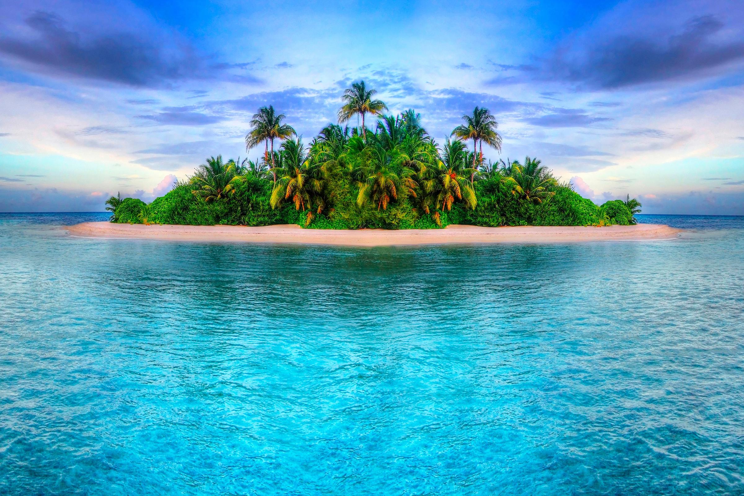 Днем, морские пляжи открытки