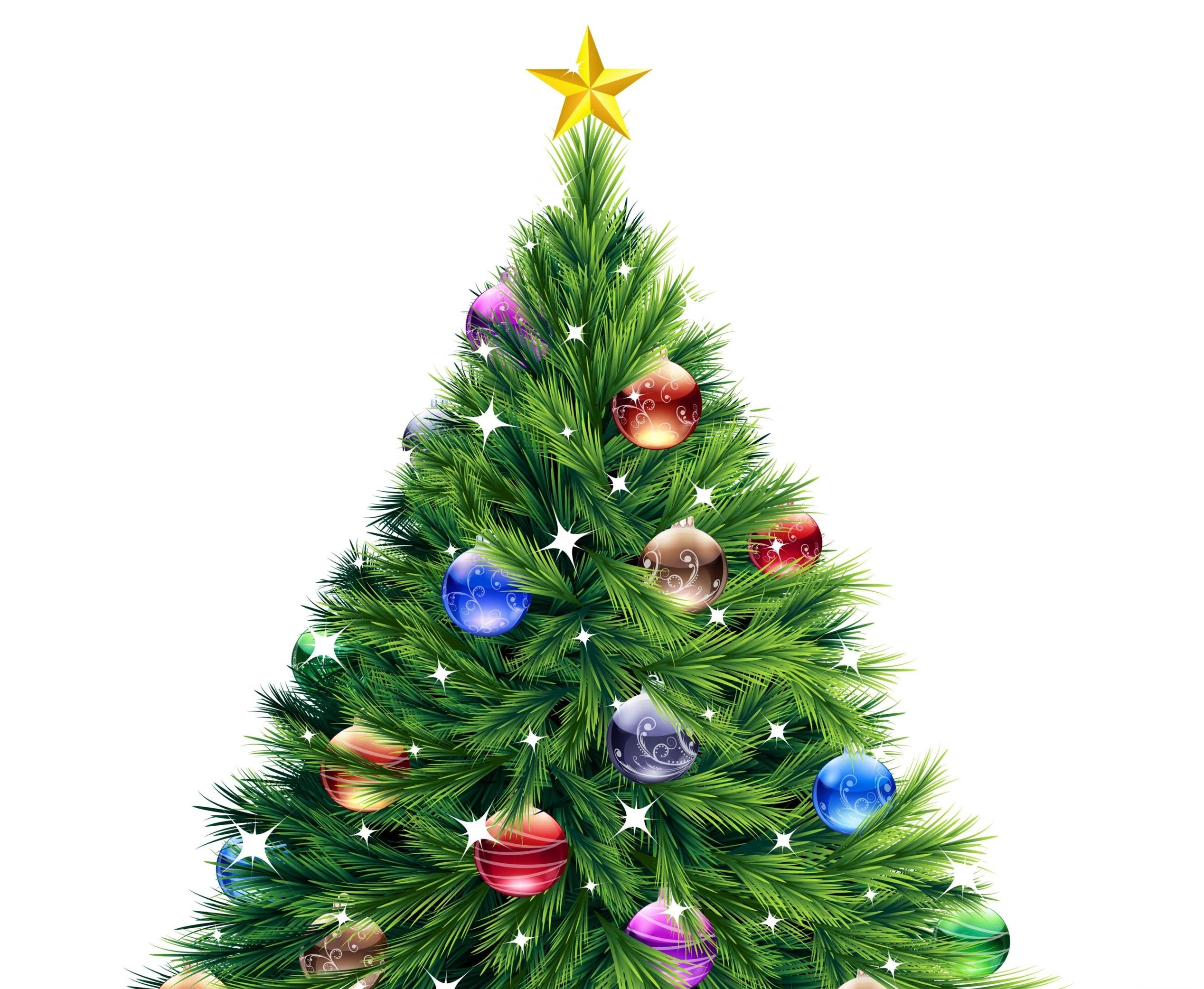 картинки новогодней елочки с шарами покупателей