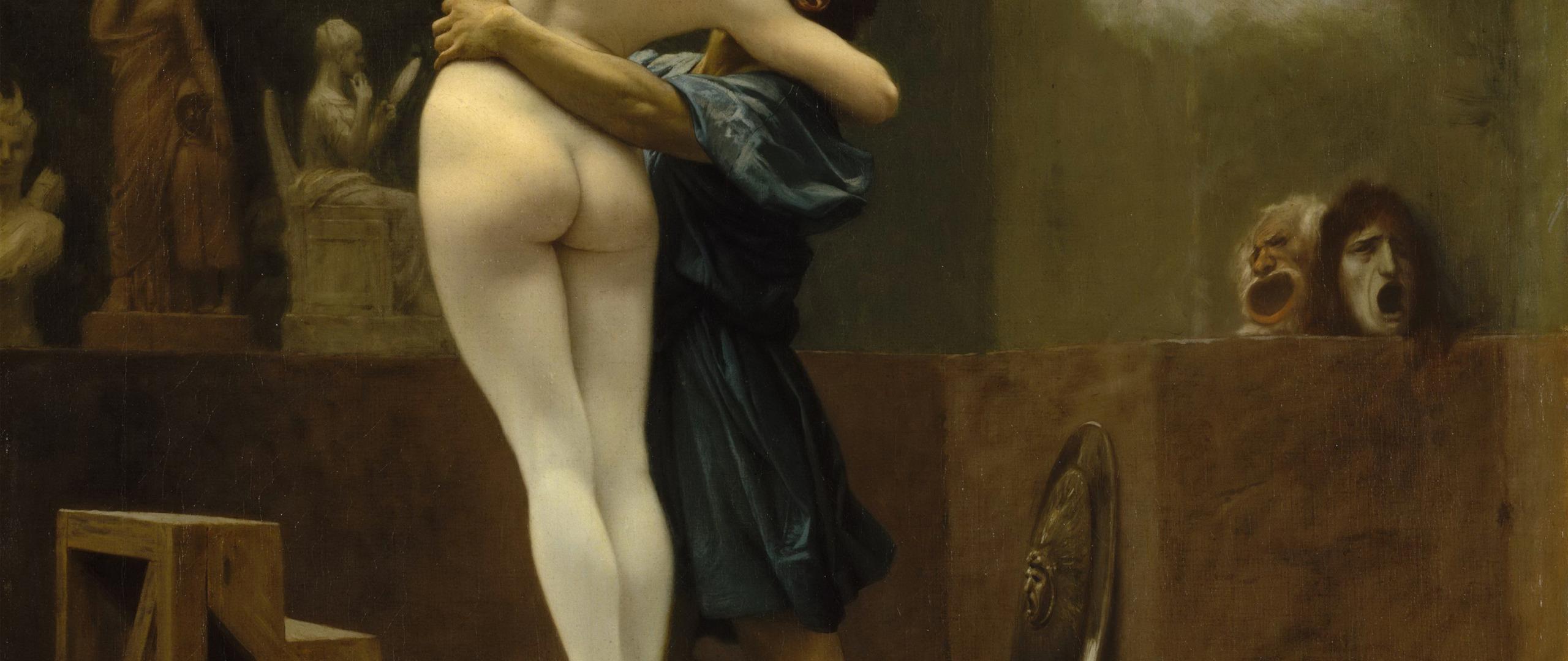 an analysis of jean lon grmes painting pygmalion and galatea