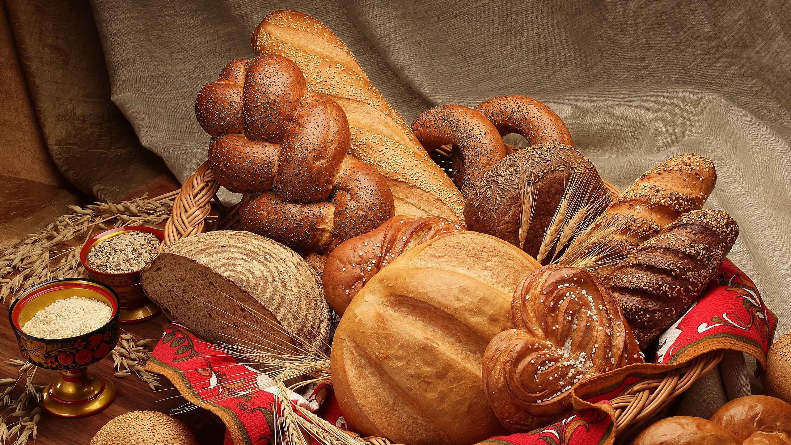 Картинка с хлебом, анимация