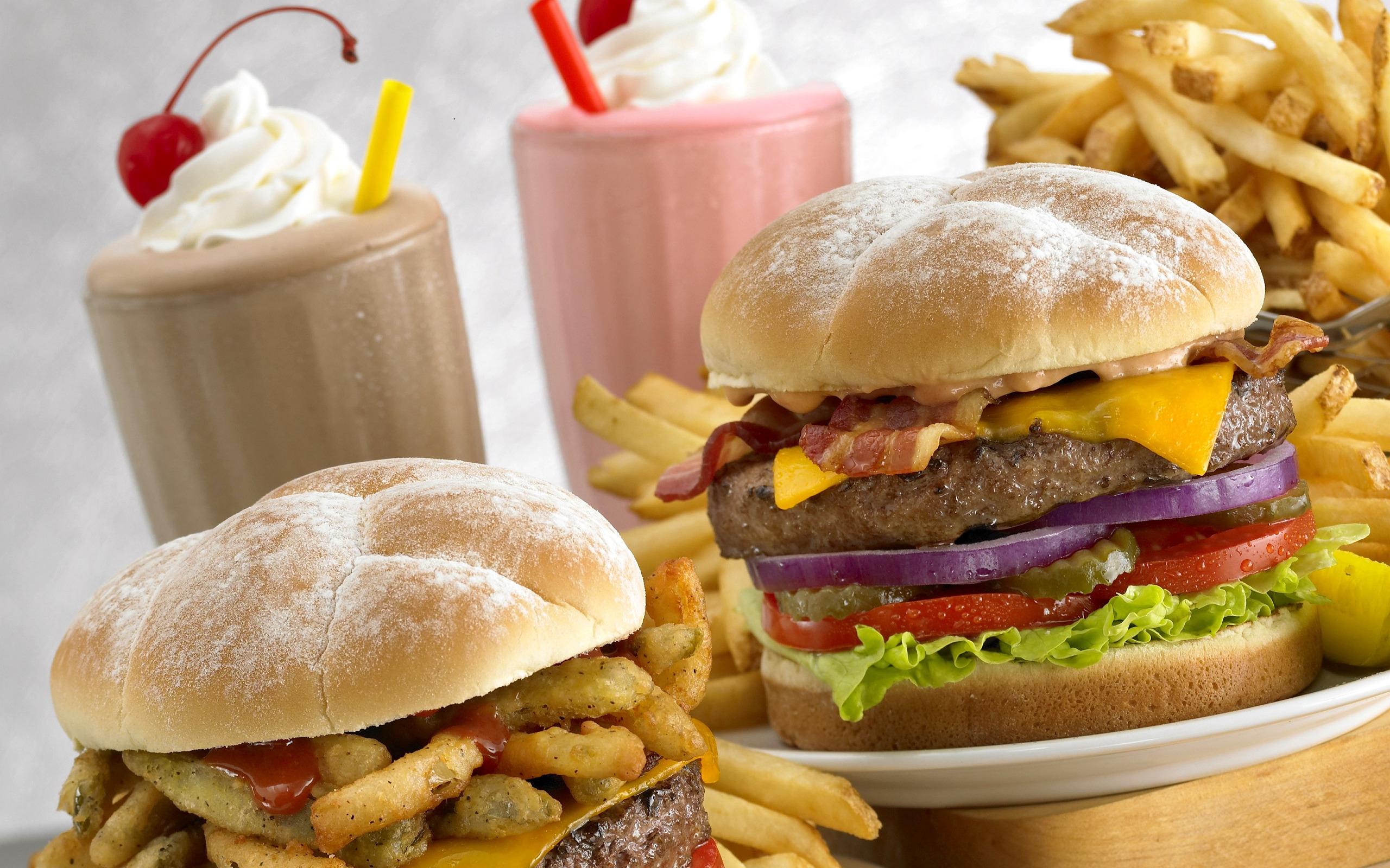 Вредная еда картинка