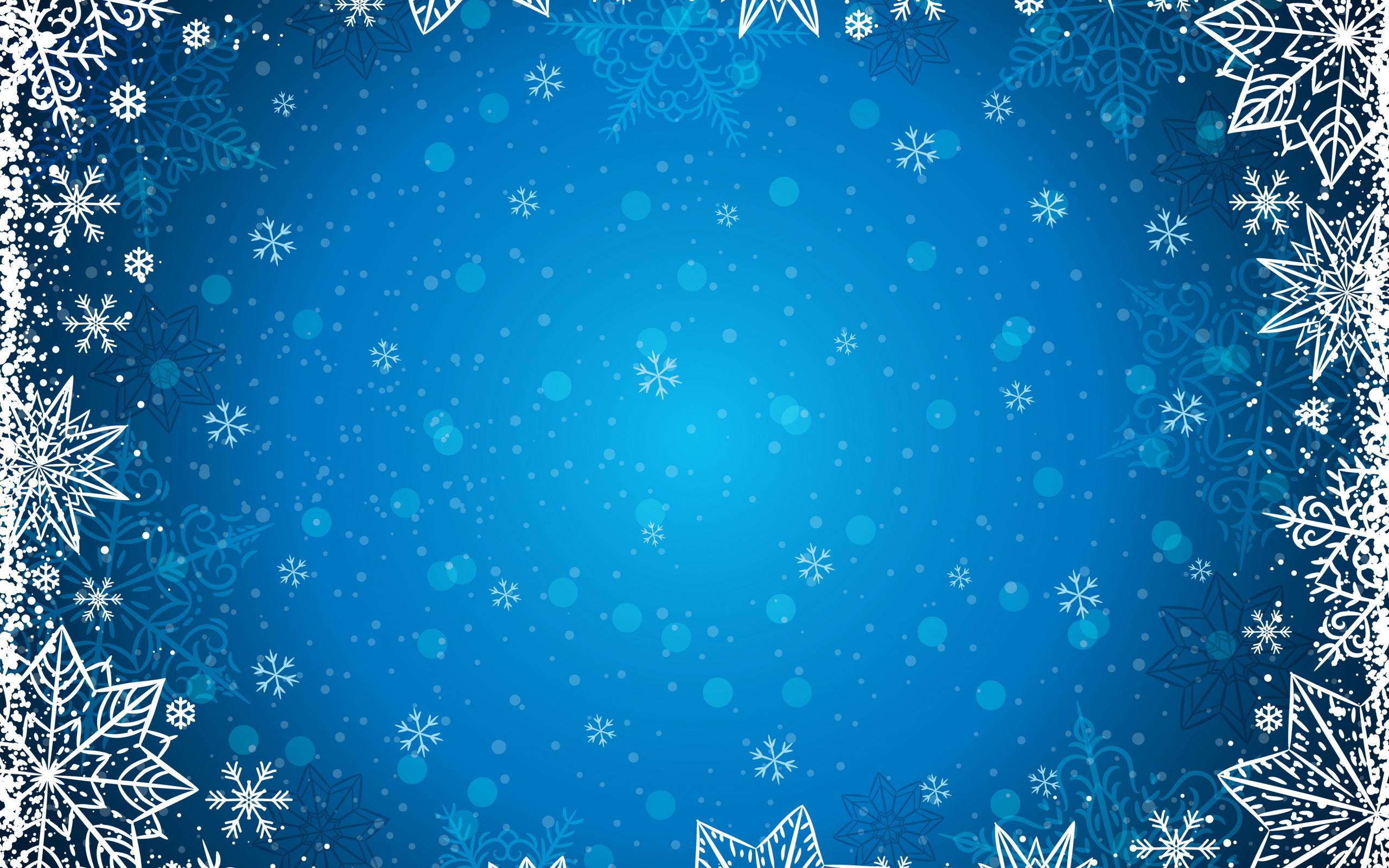 фон для открытки зимний синий внимание