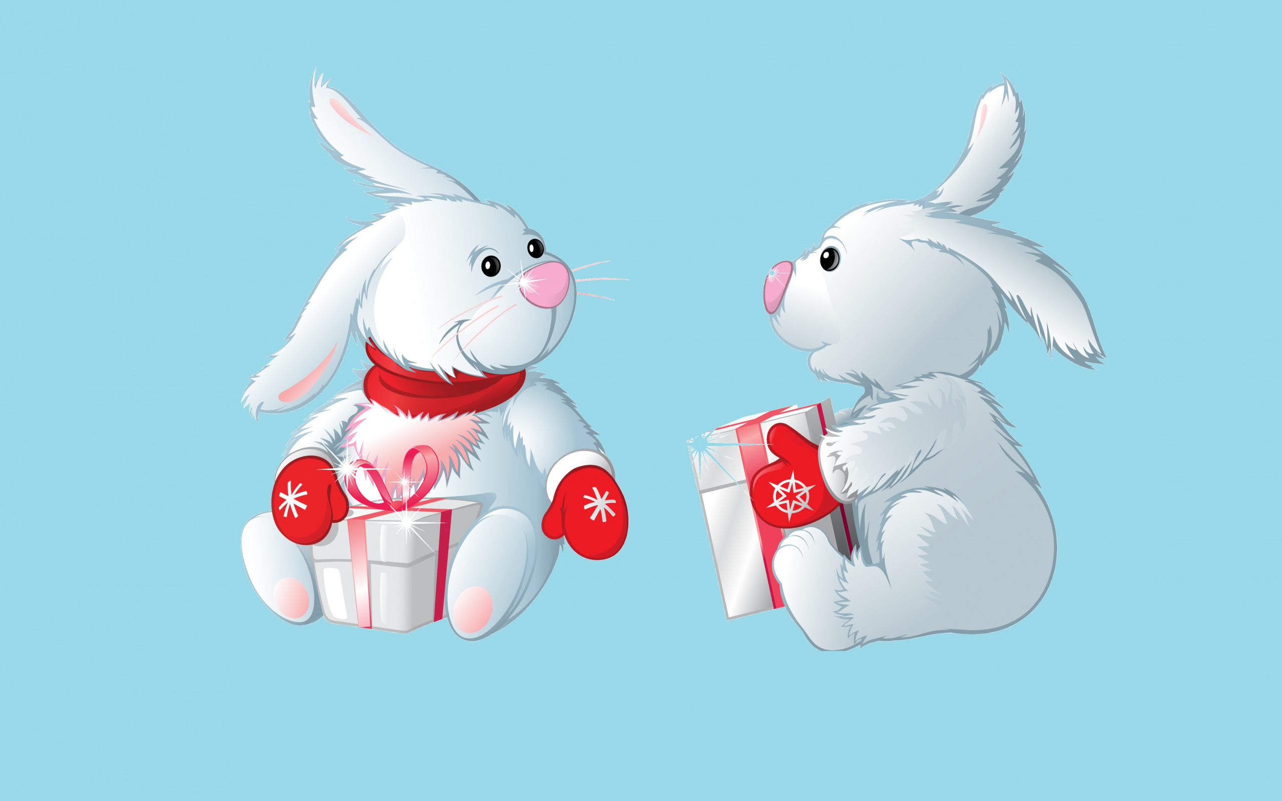Картинки символов года зайца