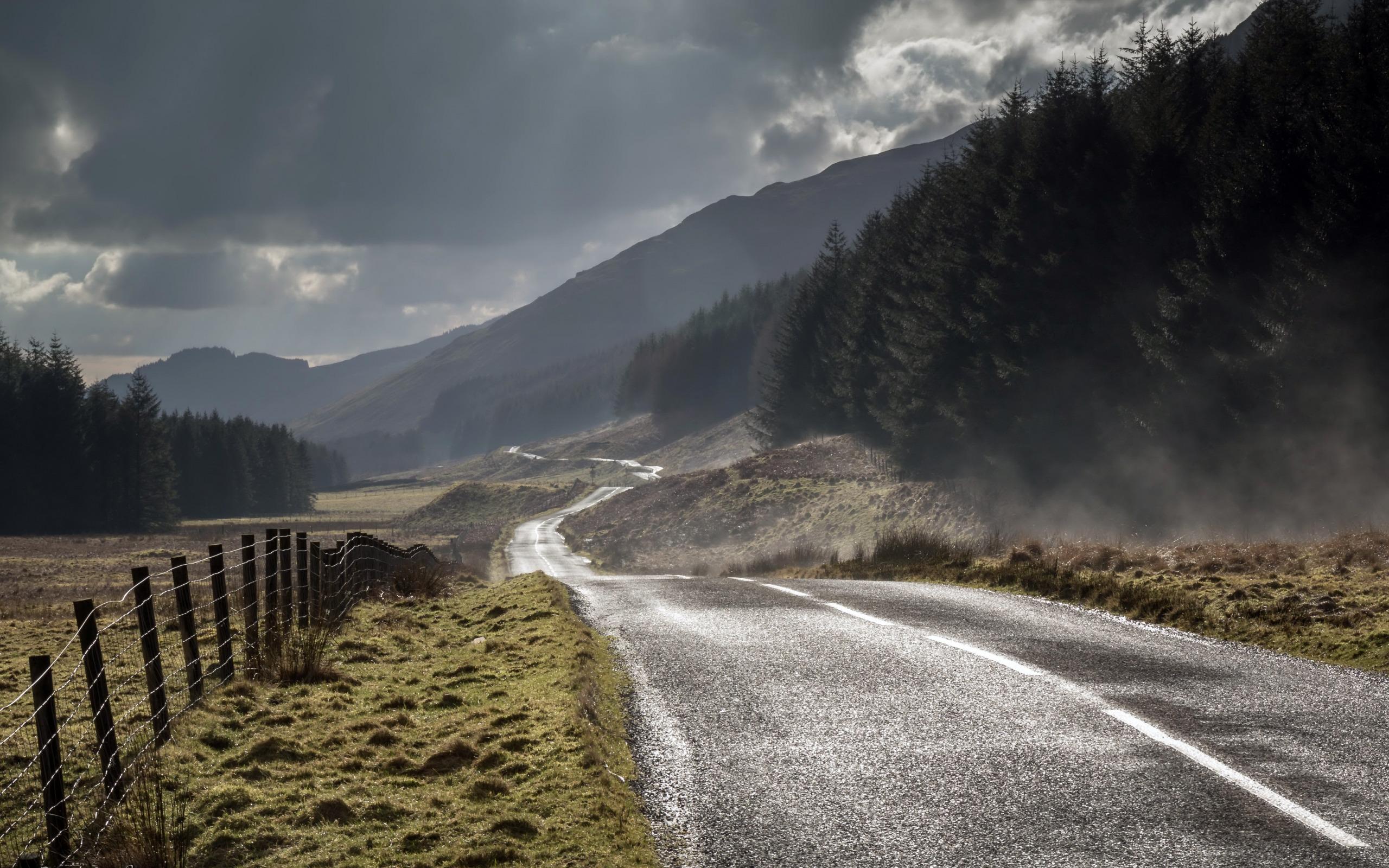 настоящее время красивые картинки дорога в тумане выбор осборн проведёт