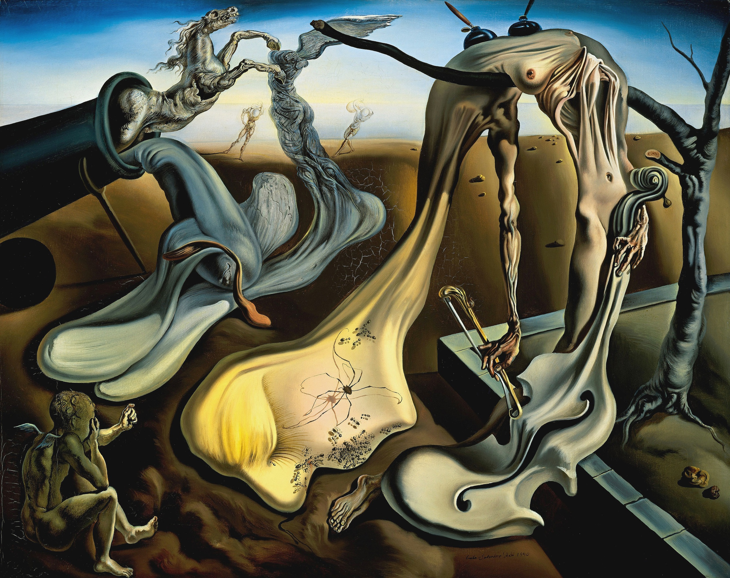 dali and surrealism André breton, author of the 1924 surrealist manifesto, was an influential theorizer of both dada and surrealism born in france, he emigrated to new york during world war ii, where he greatly influenced the abstract expressionists.