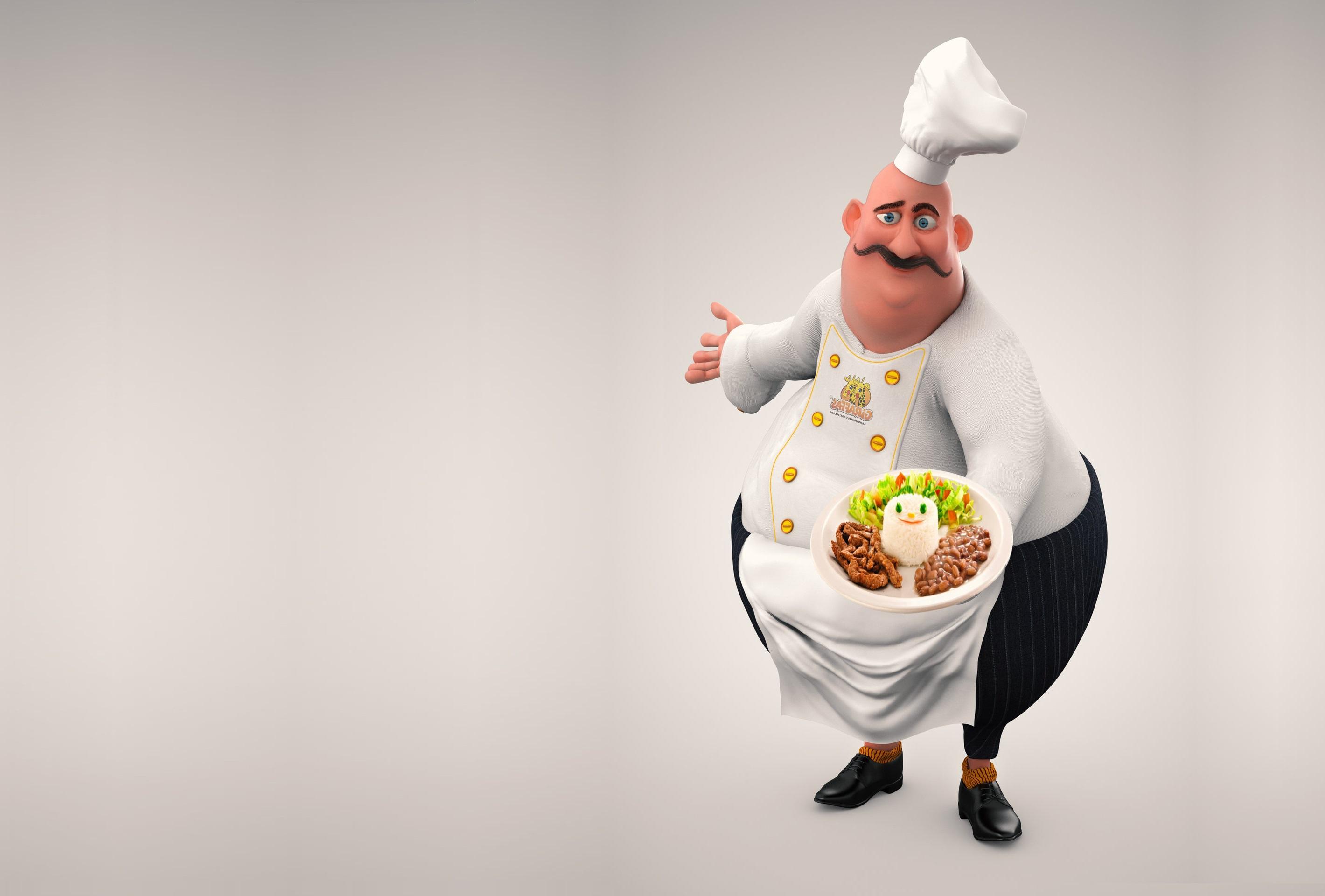 Прикольная картинка шеф-повара, смешной