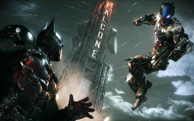 Обои для рабочего стола бэтмен рыцарь аркхема