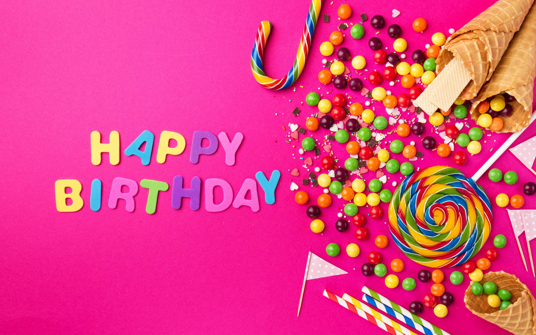 Открытка дню, фоновая картинка с днем рождения девушке