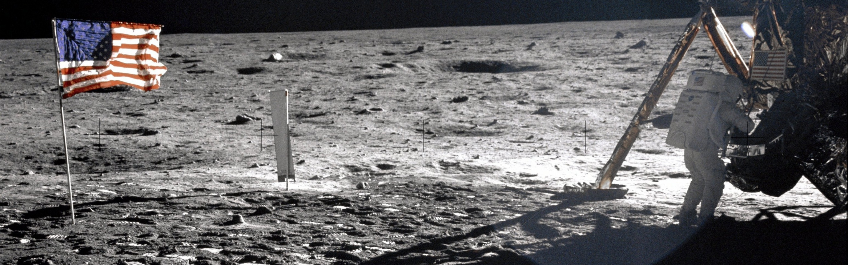 neil armstrong on the moon - 1920×687