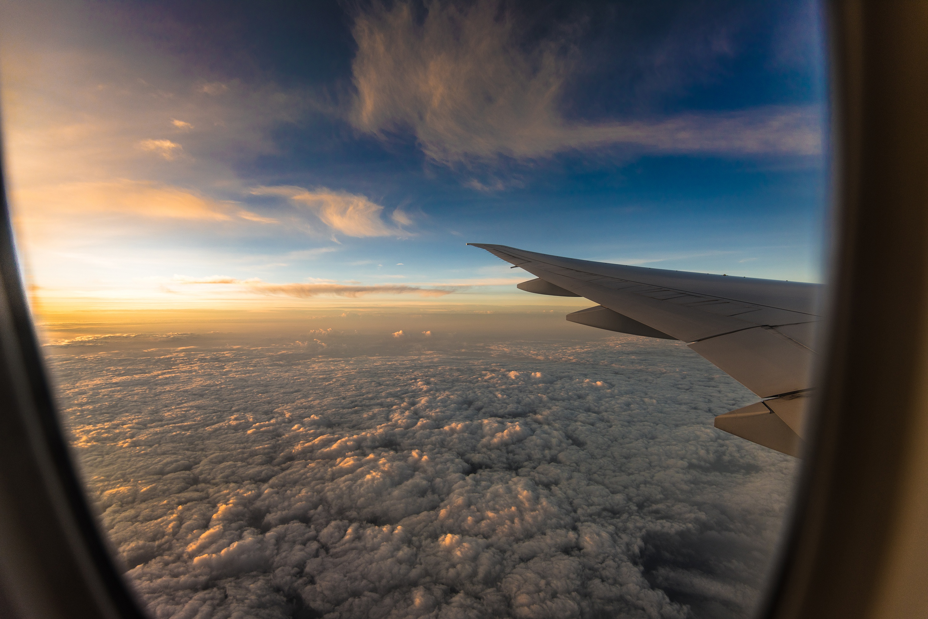 views from a plane - HD1920×1281