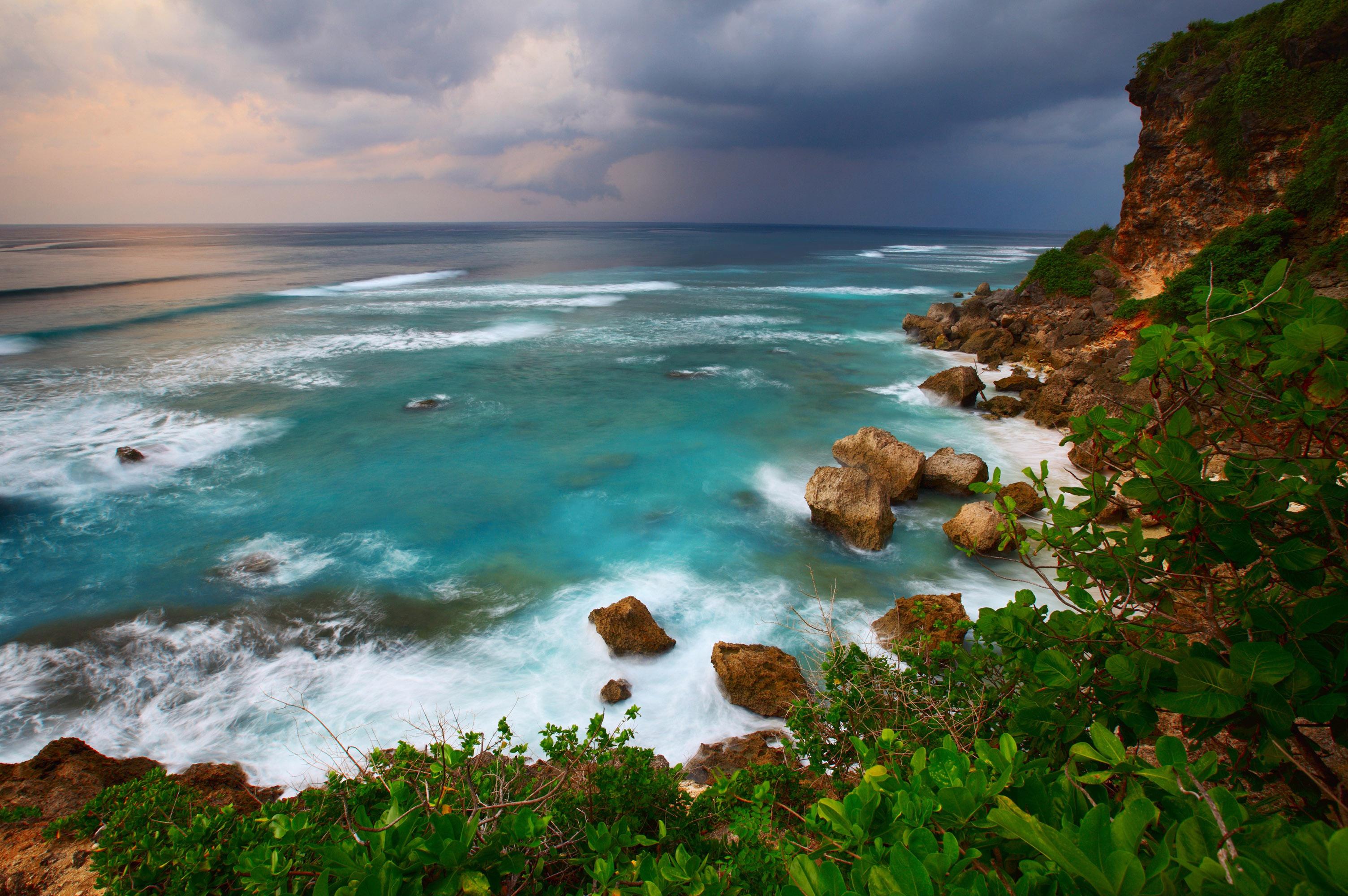 Море побережье природа Мыс Соландер  № 3111783 загрузить