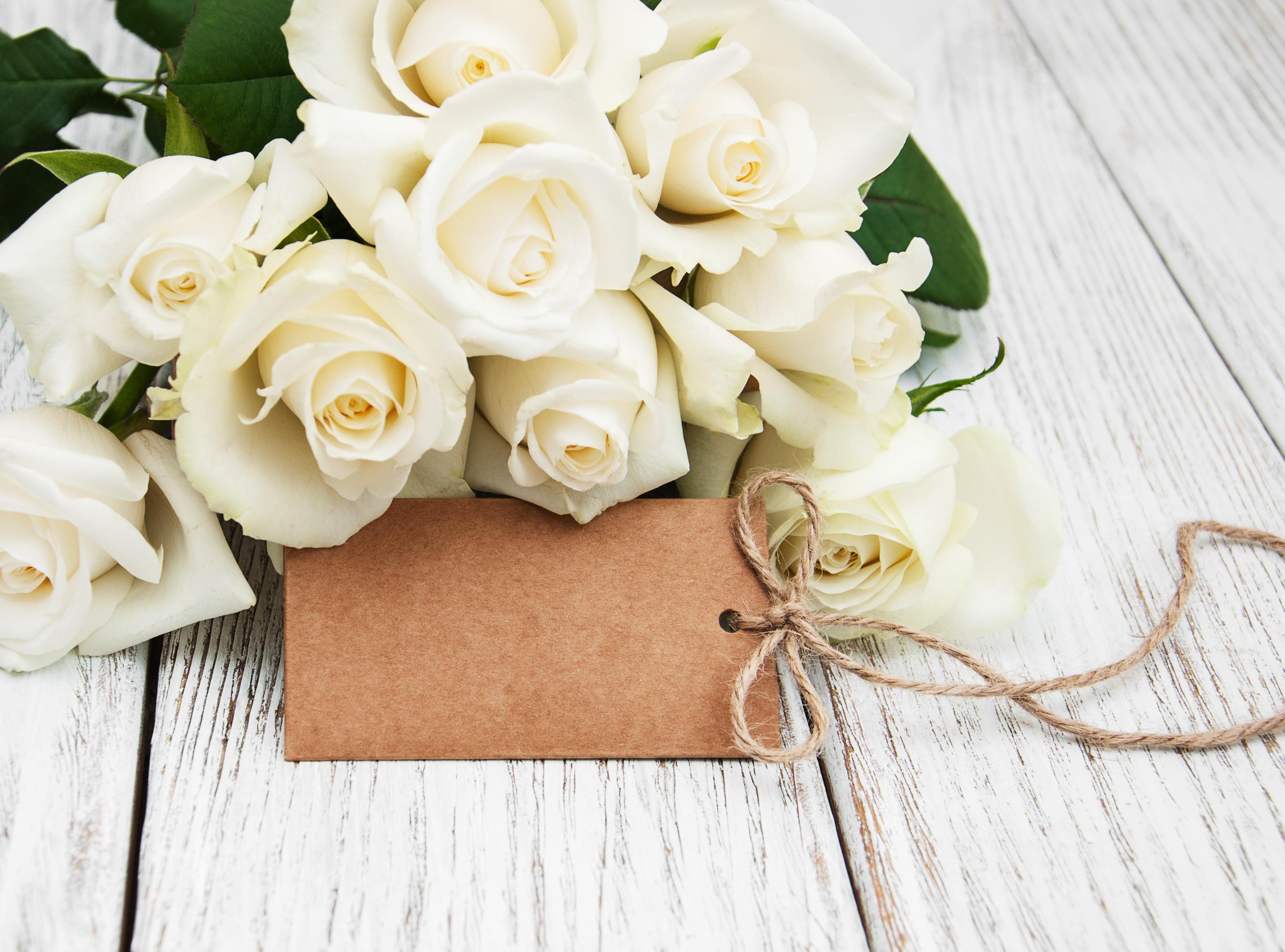 Цветы в подарок открытки