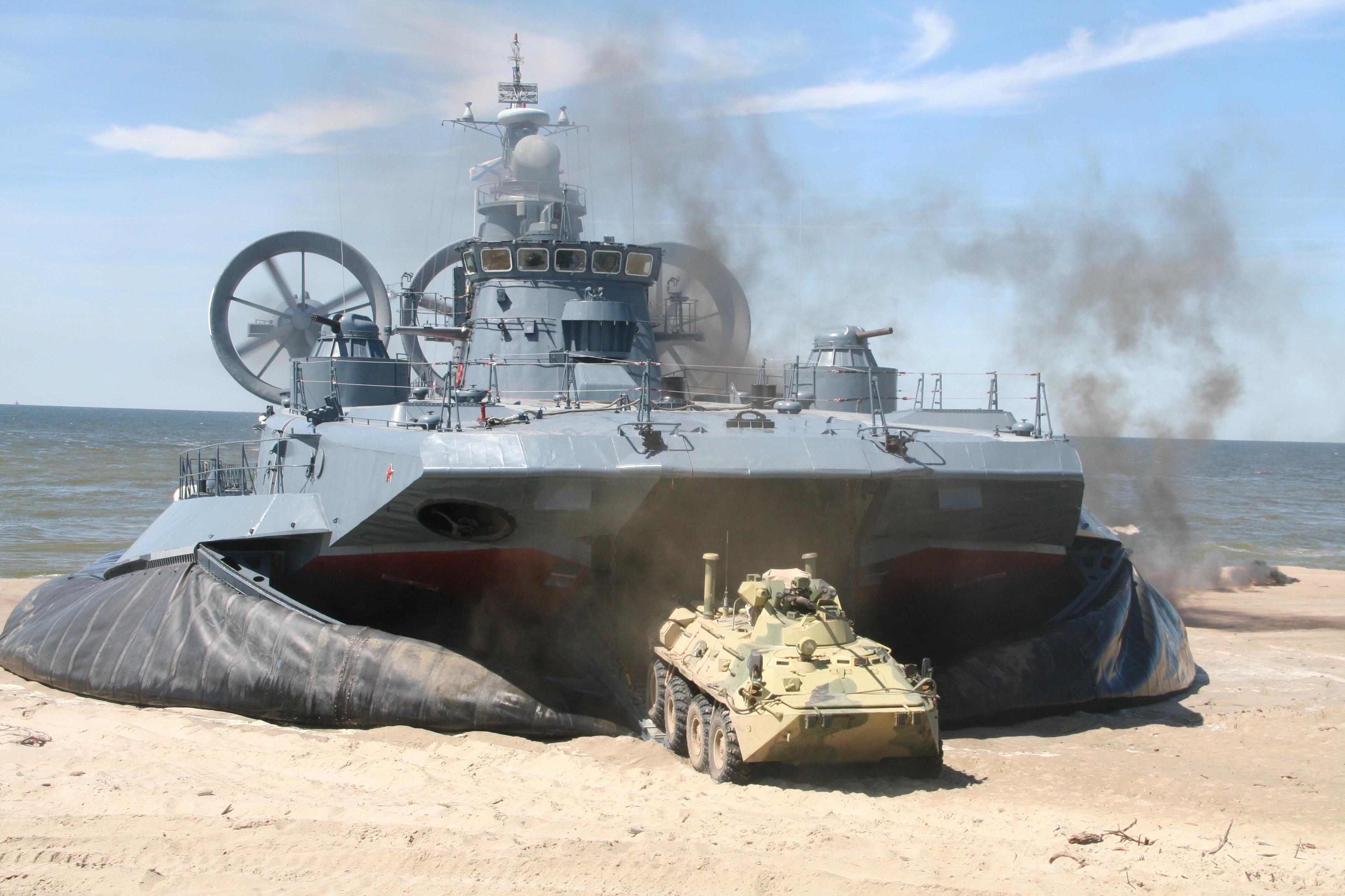 фото военные корабли на воздушной подушке что все