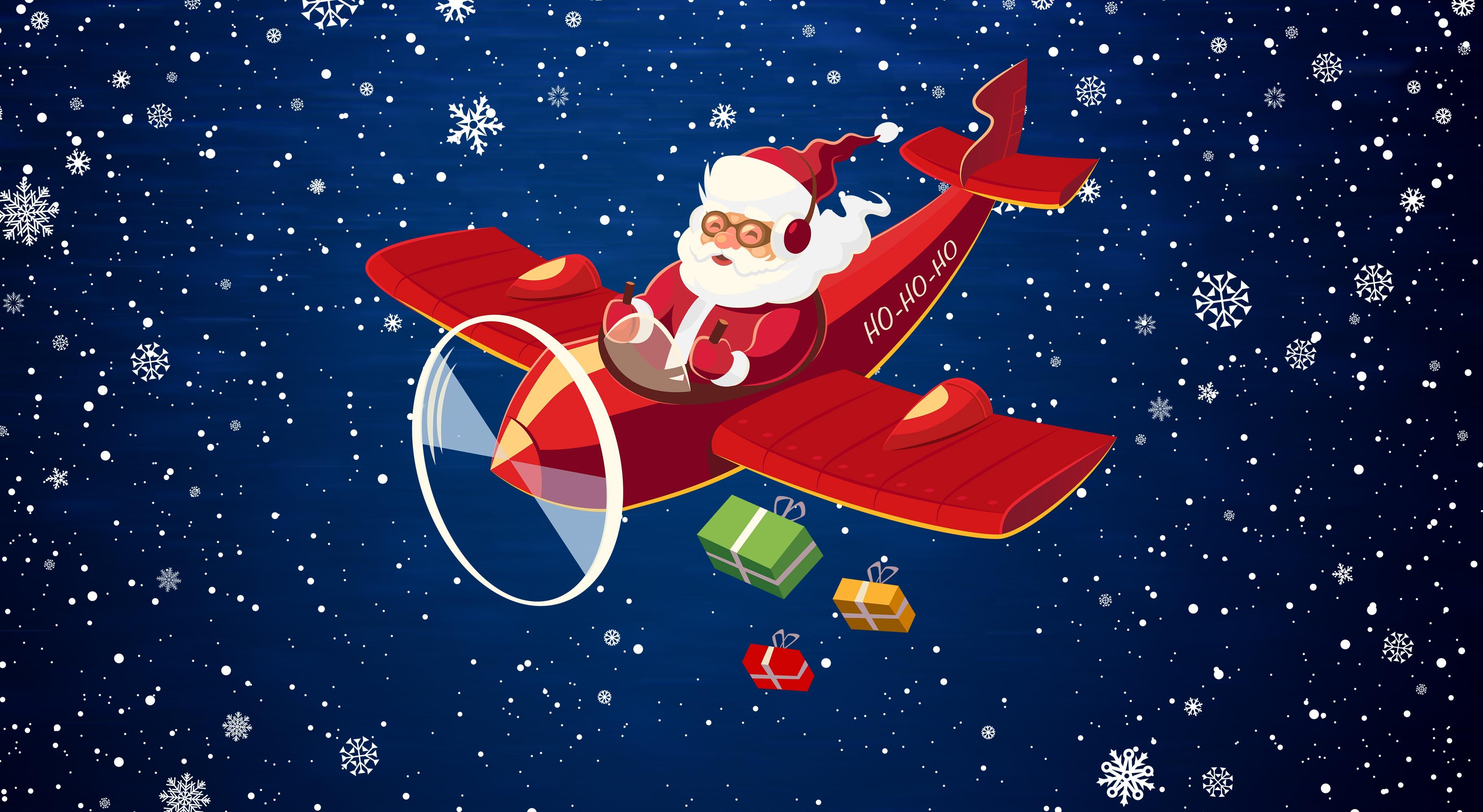 Поздравления с новым годом другу самолет