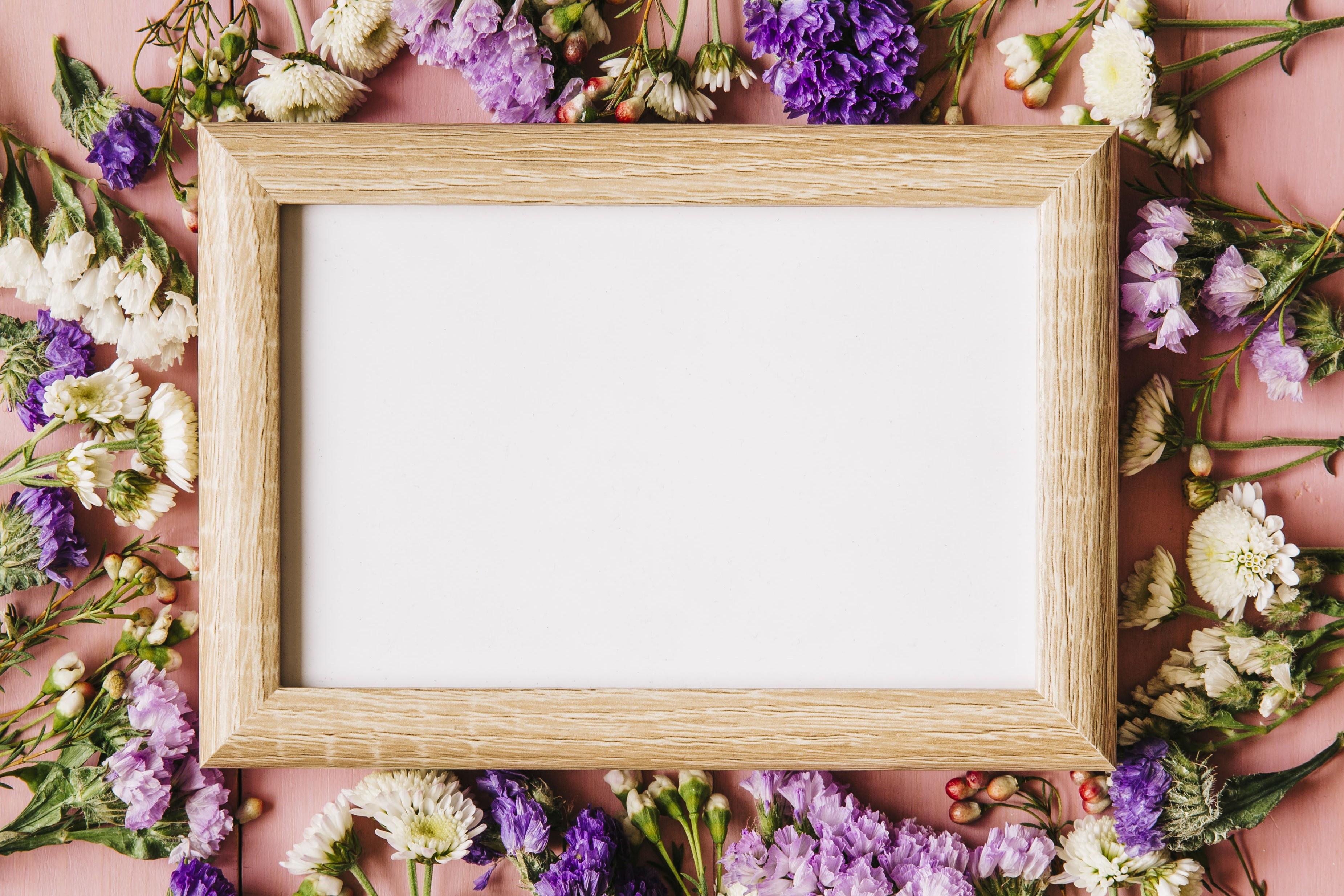 мать, отец картинка с цветами в рамке фото черно-белой