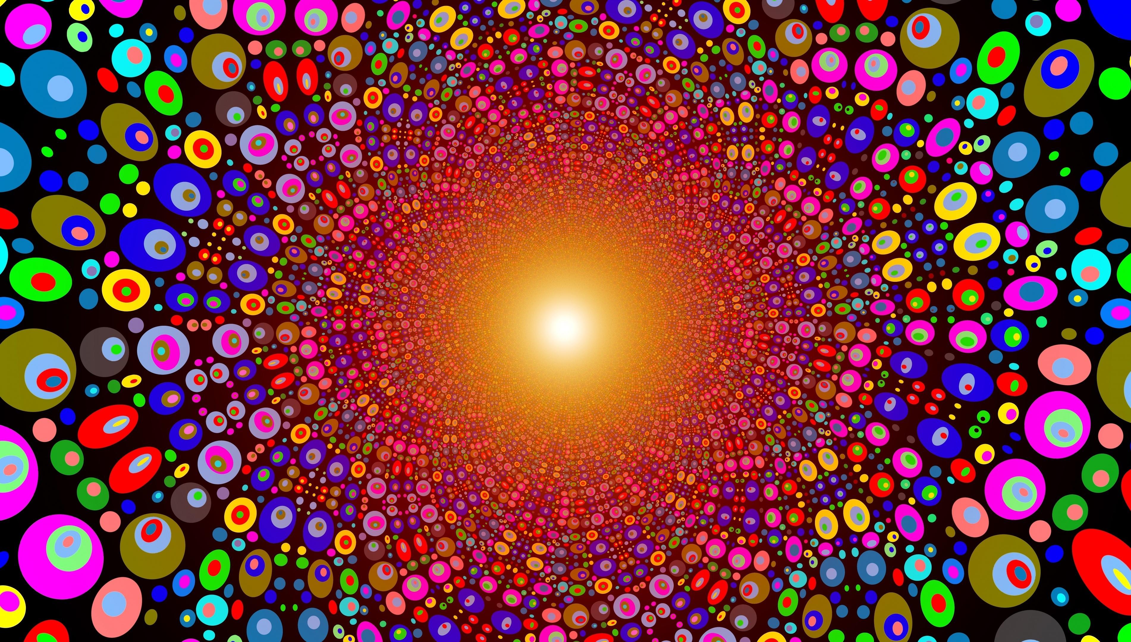 графика абстракция круги цвета  № 2063586 загрузить