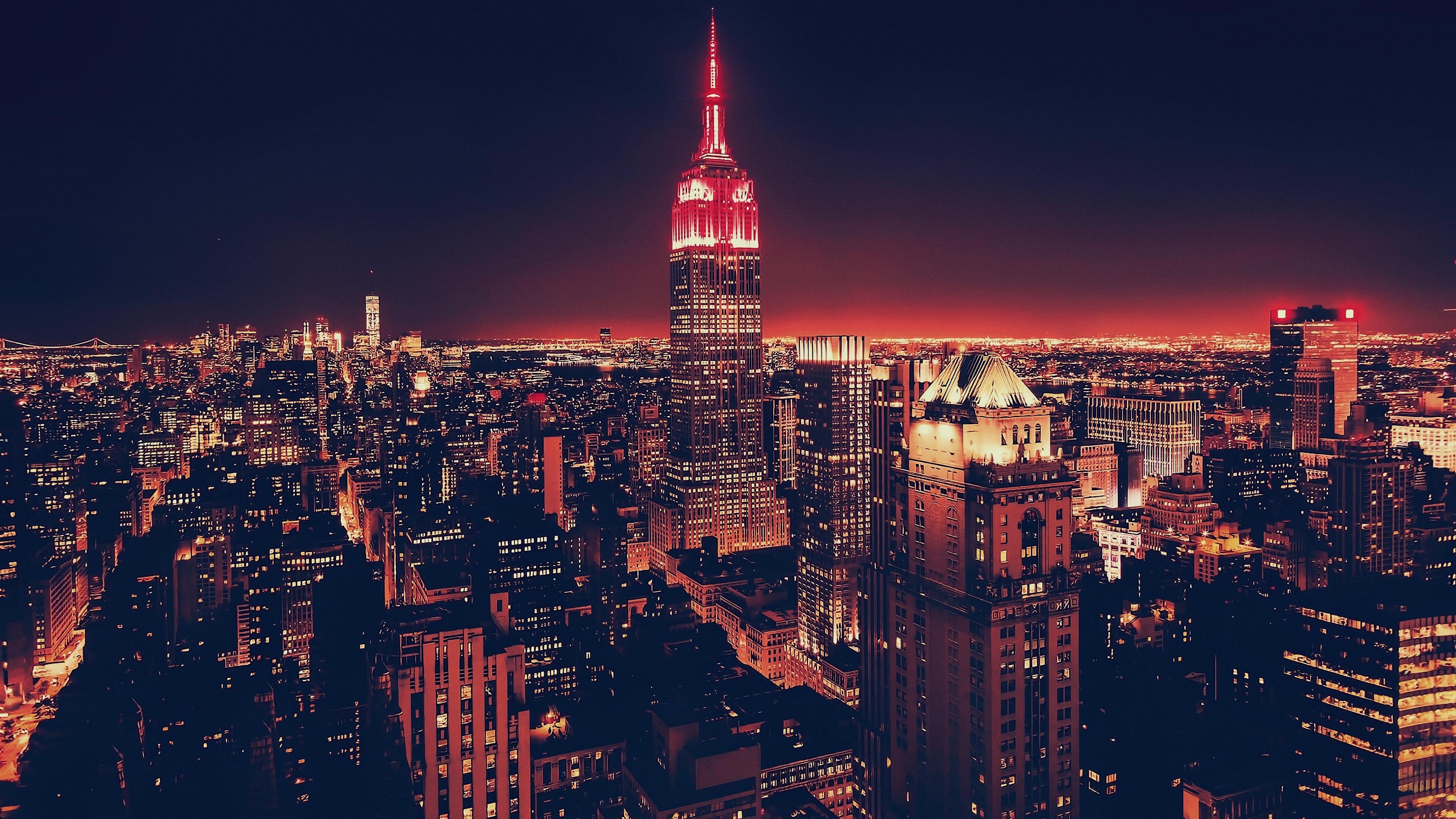 небоскребы ночь город  № 3358864 загрузить