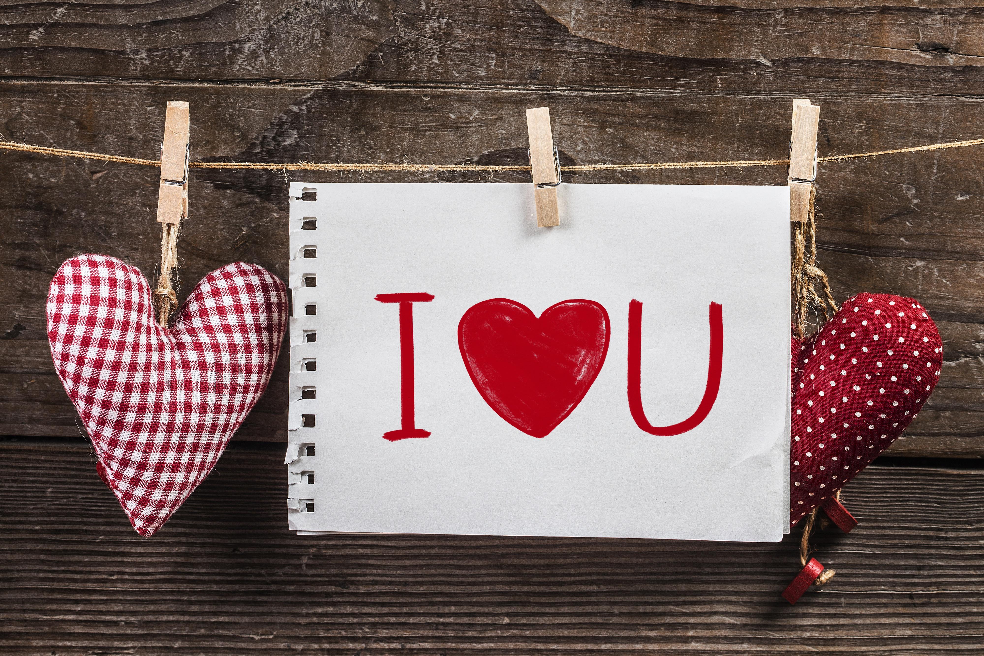 Открытка сердцем, открытка английском