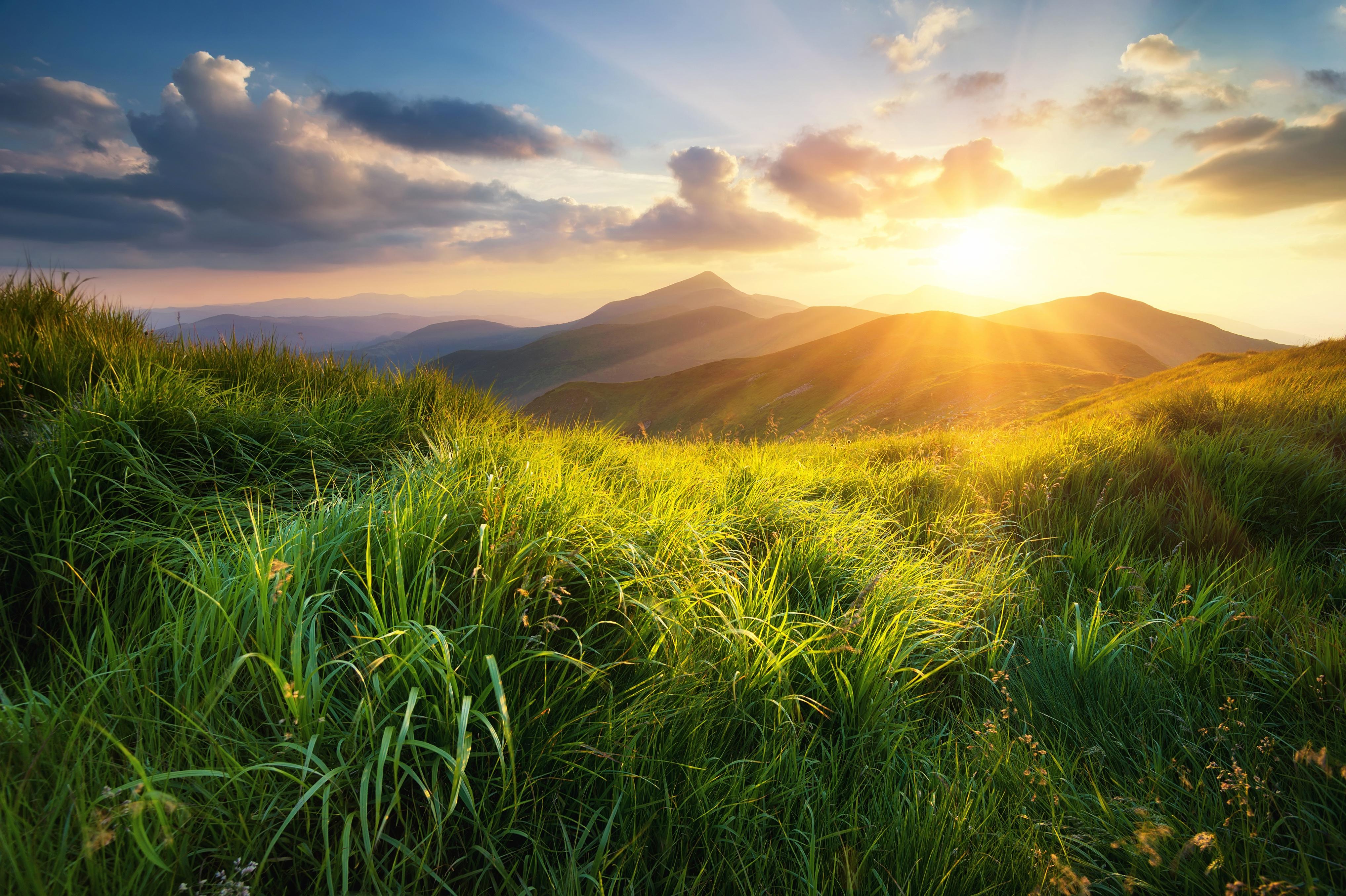 Холмы горы солнце  № 2744517 загрузить