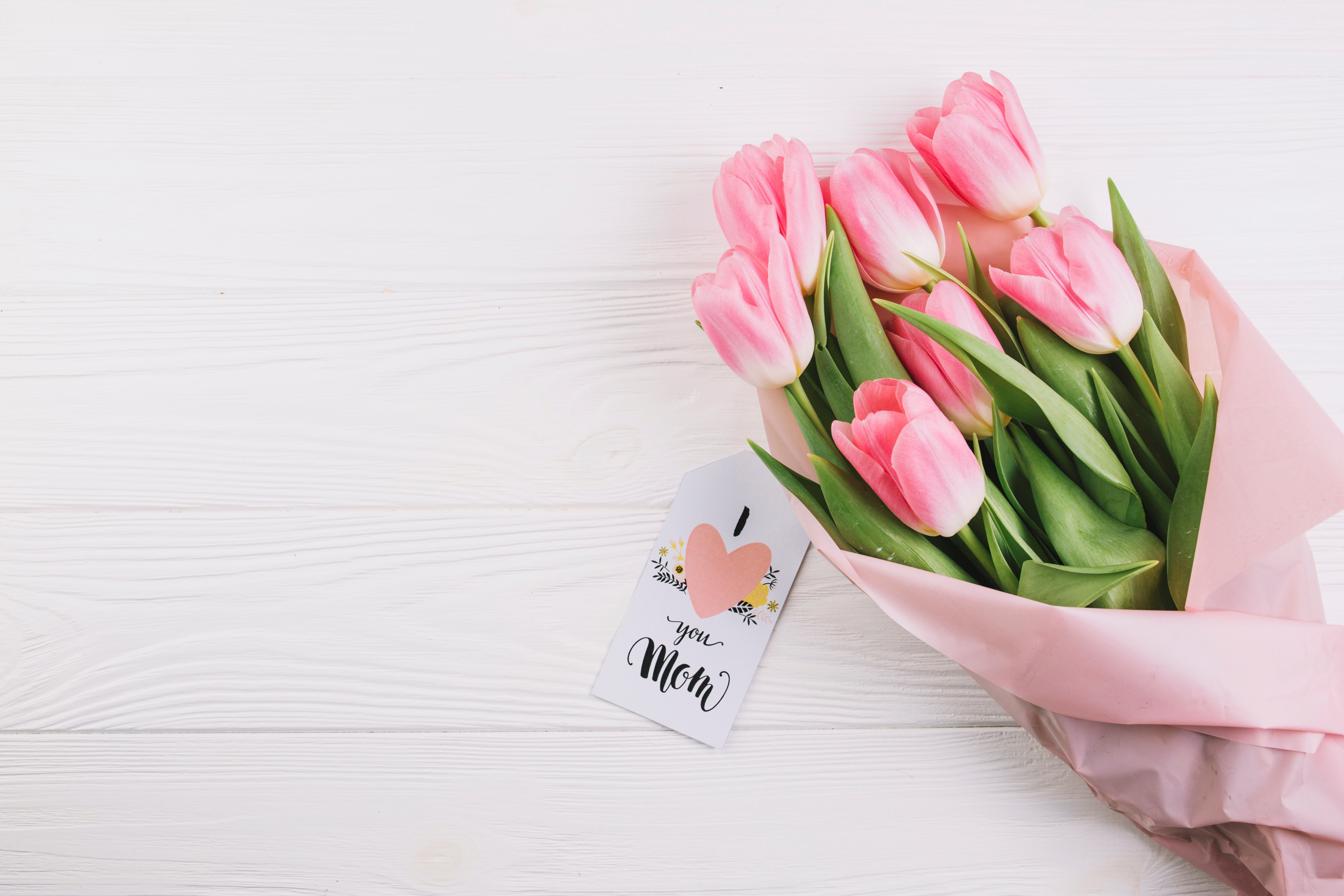 Картинка тюльпаны маме