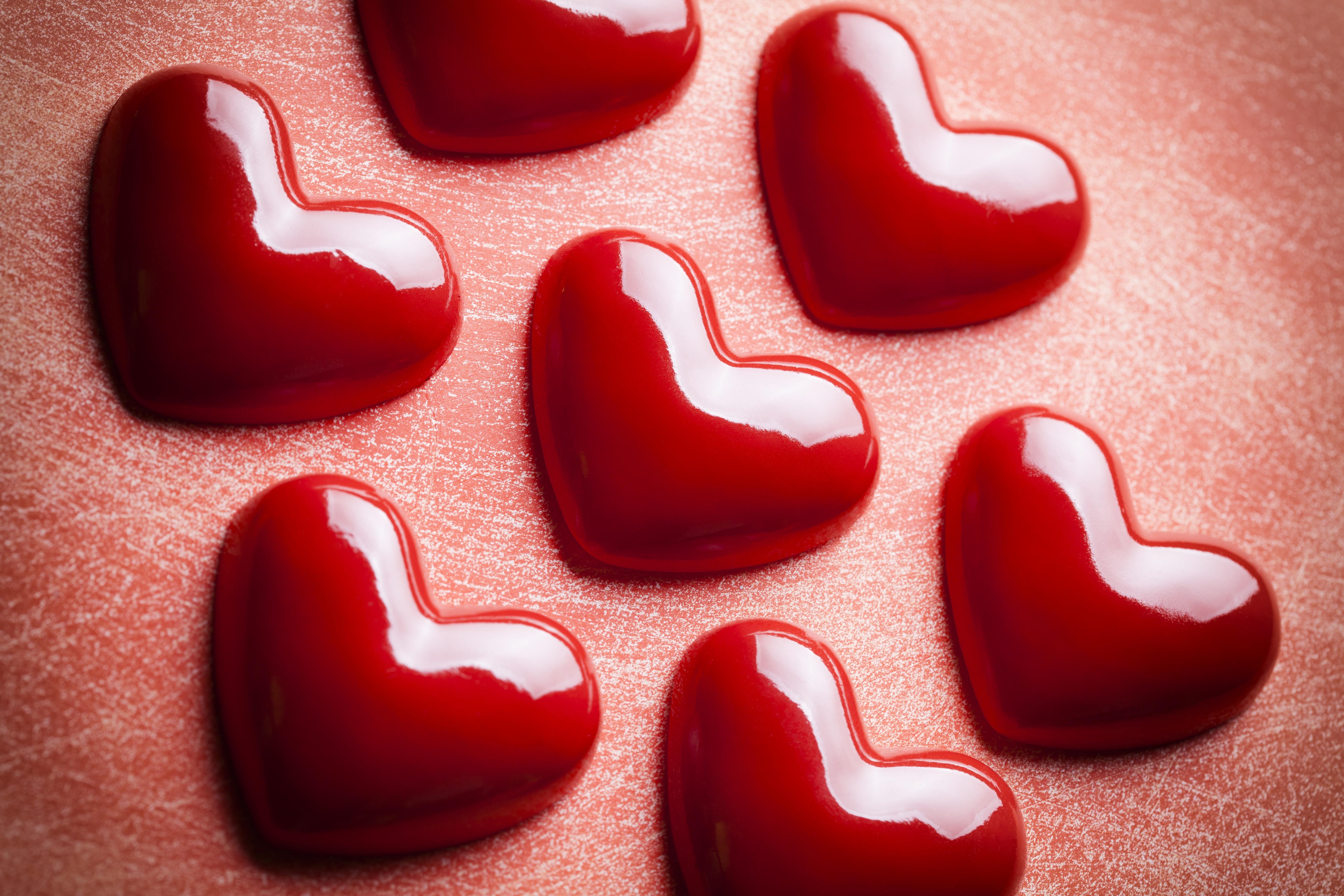 Разные картинки сердечками