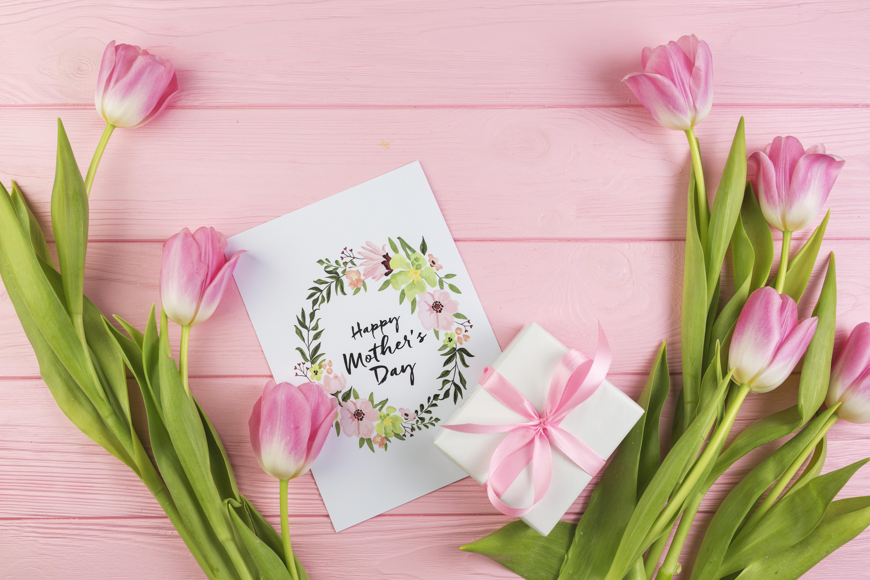 Картинки цветы в подарок маме