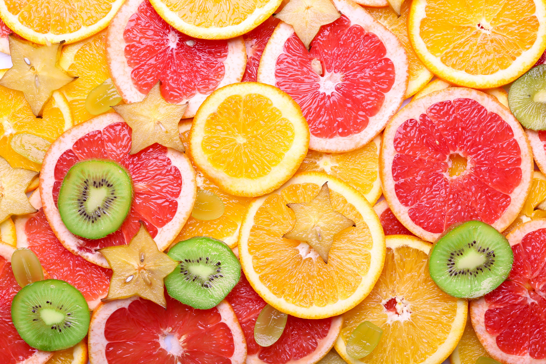 картинки на фон рабочего стола фрукты