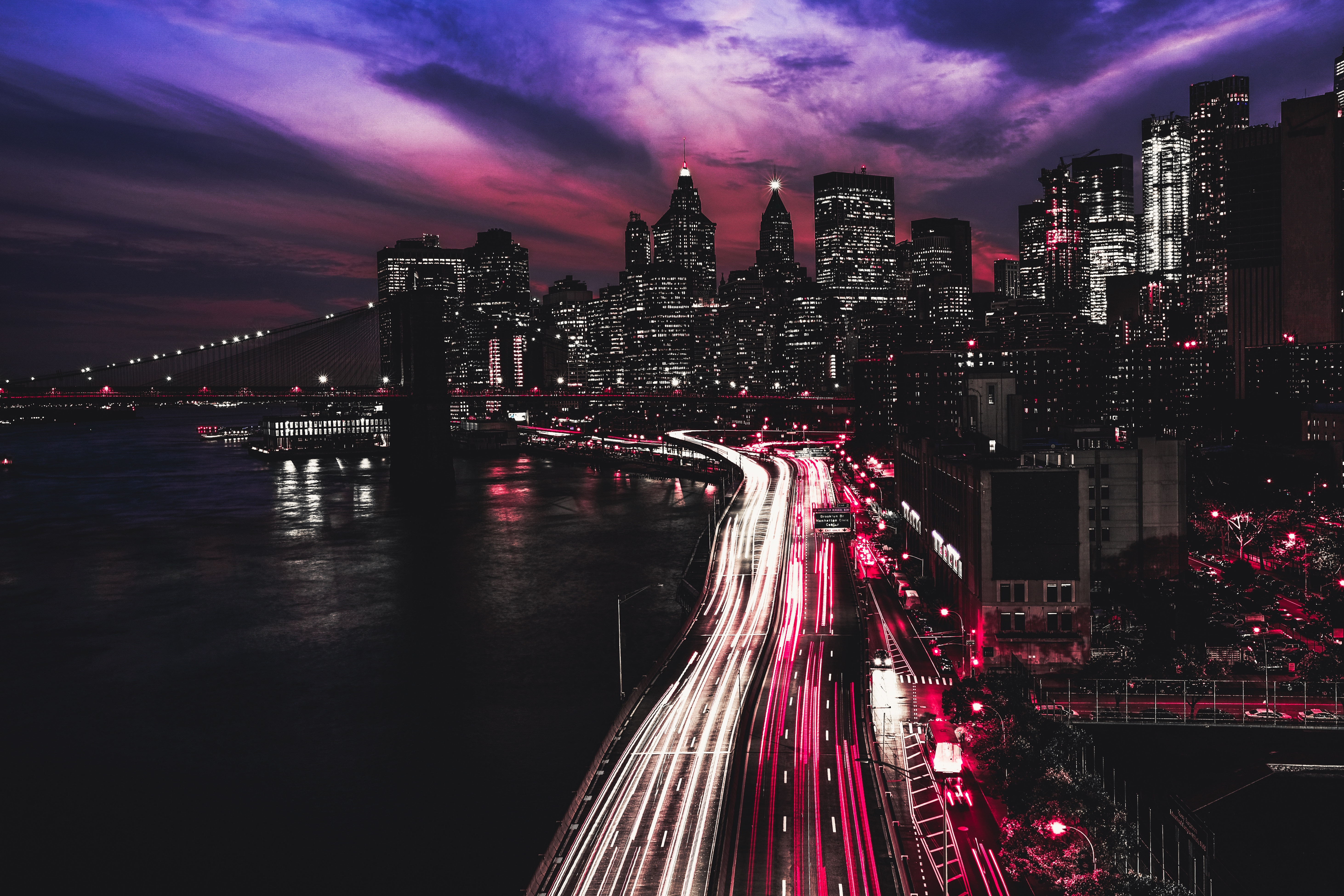 фото очень высокого разрешения город черно красный много примеров