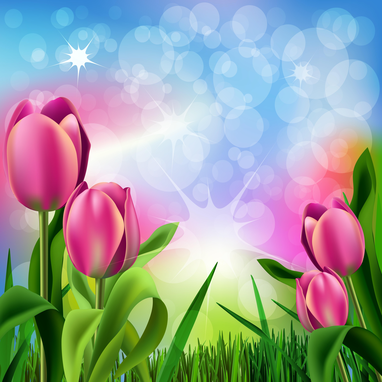 Красивые картинки с цветами для афиши переводчик