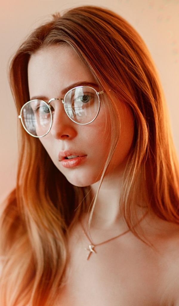 Tiffany adult glasses blond