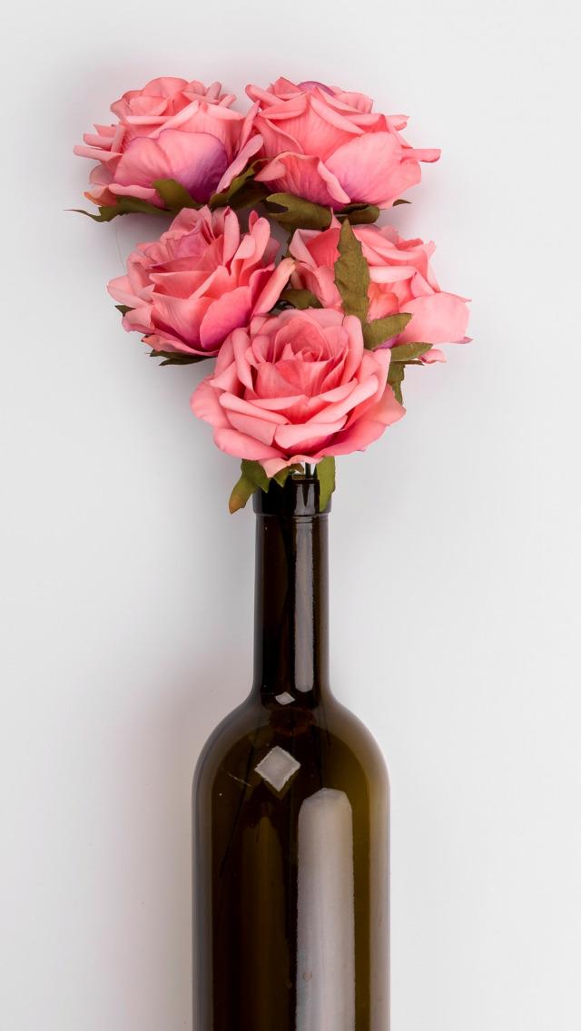 Розочка бутылка картинки