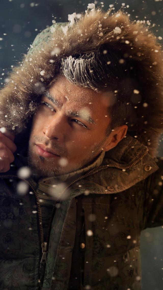 картинки мужик зимой стало