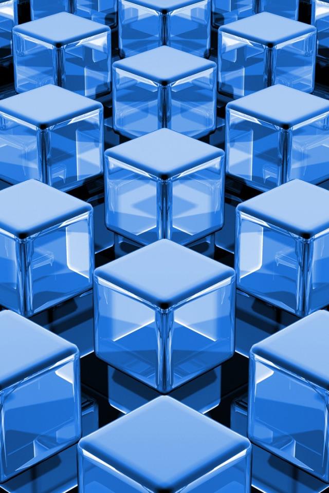 можно картинки синие кубики поделимся
