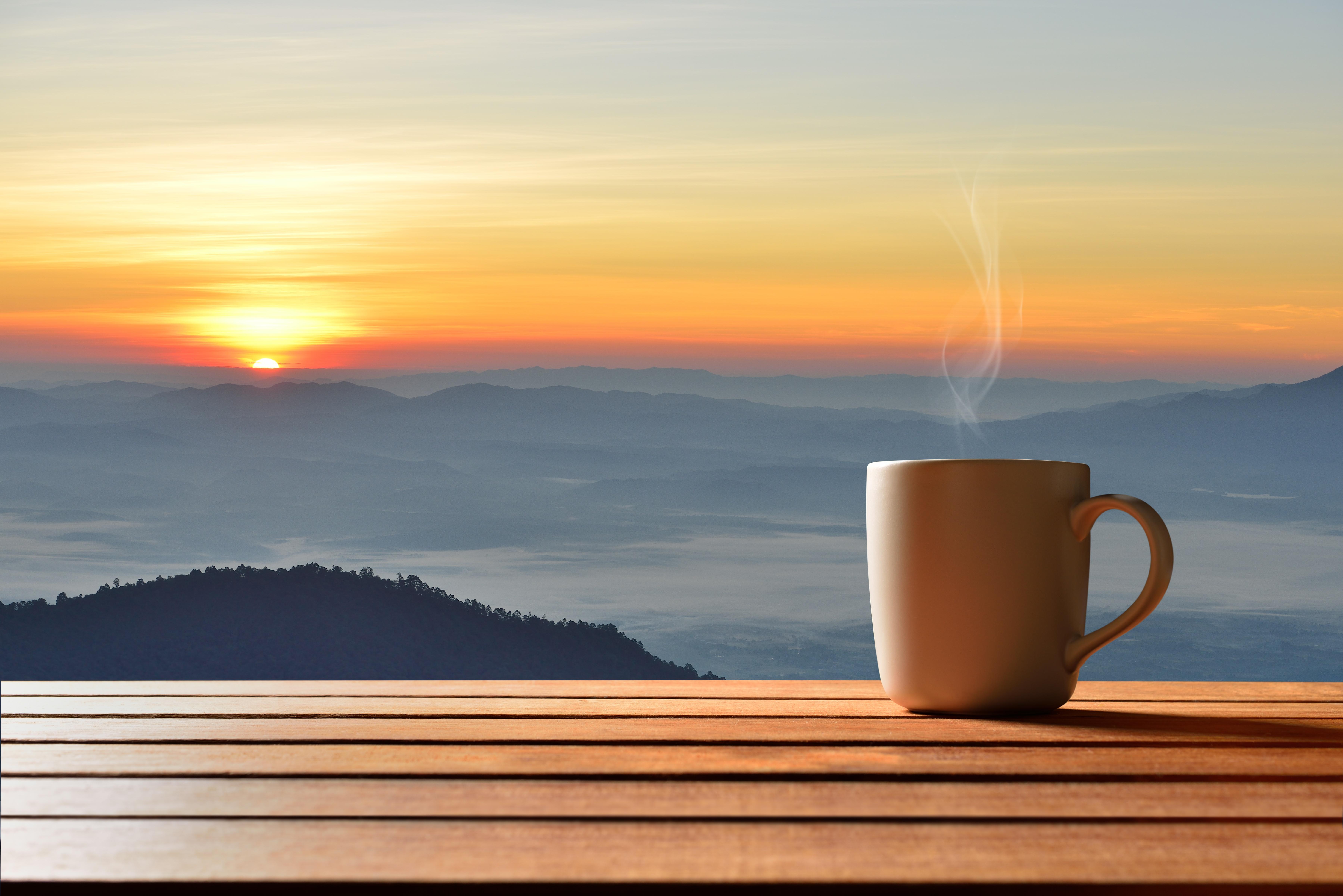 Картинки мая, доброе утро в горах открытка
