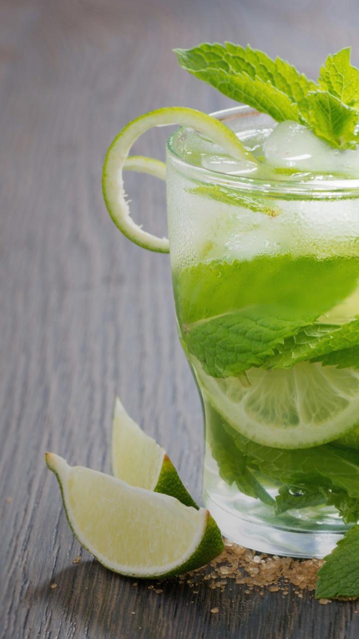 Напиток с лаймом и мятой в домашних условиях 905