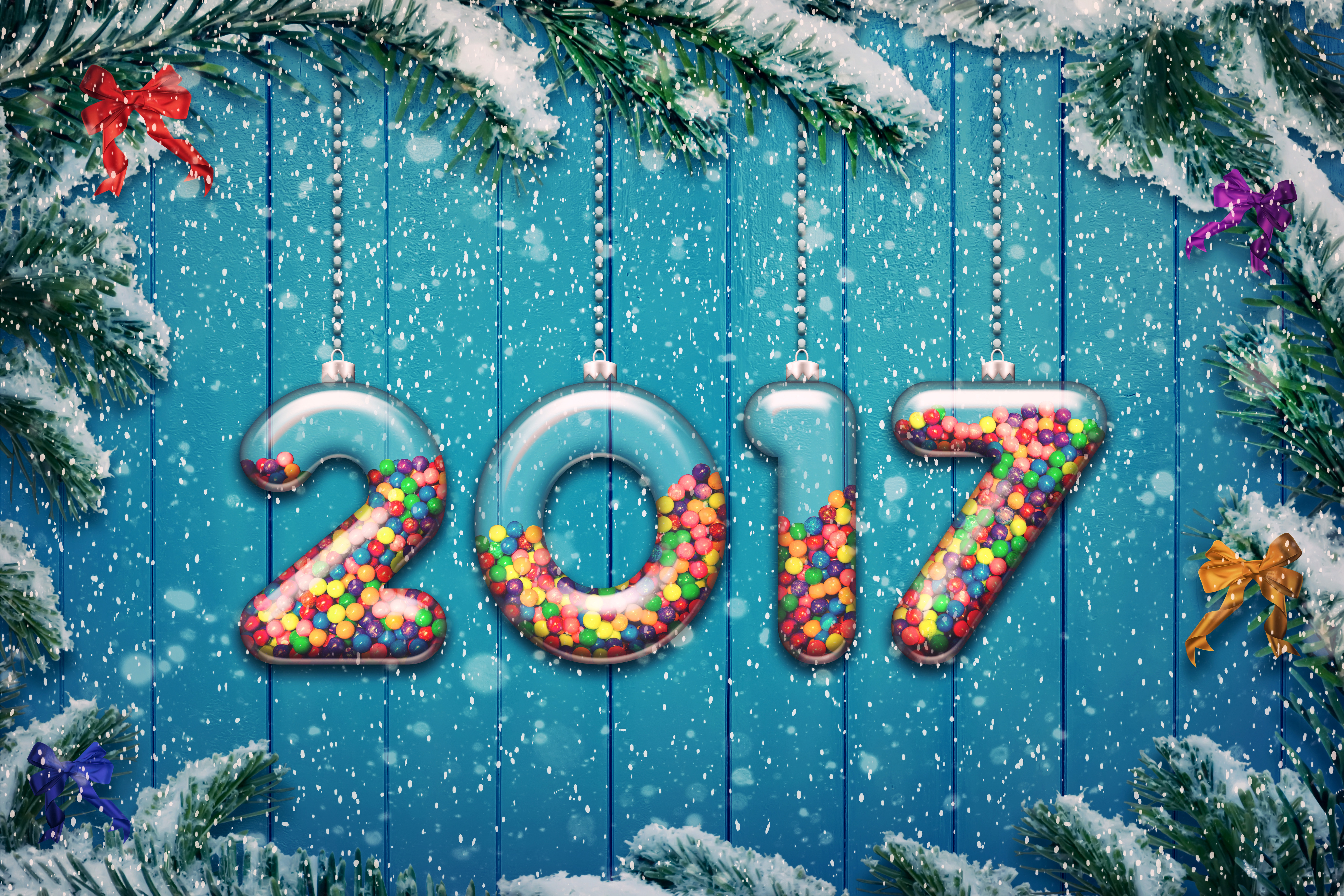 wallpapers hd new year 2017