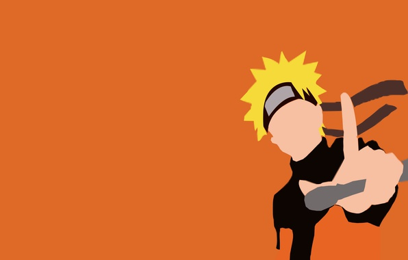 Картинка game, Naruto, minimalism, anime, orange, ninja, hero, asian, manga, hokage, shinobi, japanese, Naruto Shippuden, Uzumaki …