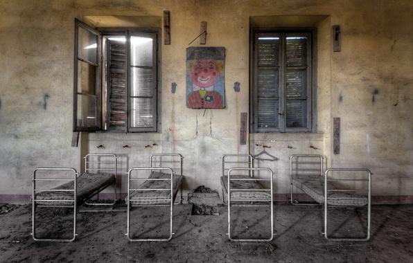 Картинка больница, палата, детский отдел