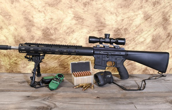 Картинка оптика, штурмовая винтовка, сошка