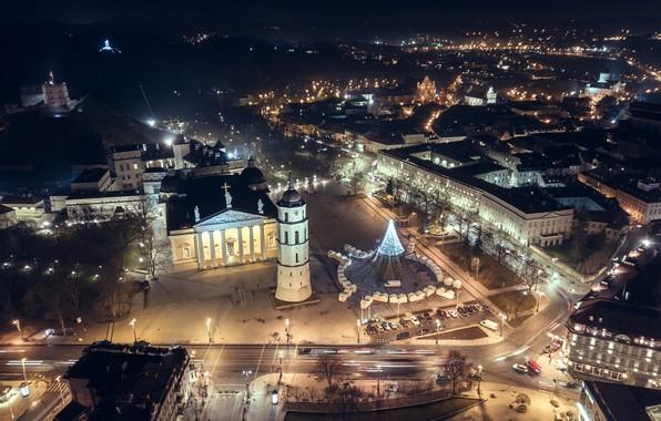 Картинка город, Lietuva, Vilnius