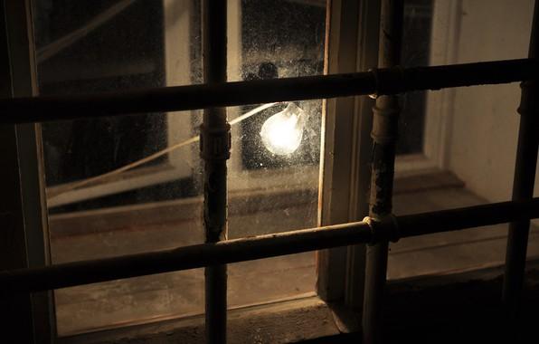 Картинка фон, лампа, окно