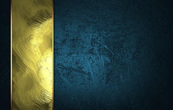 Картинка dark, golden, texture, blue, background, luxury