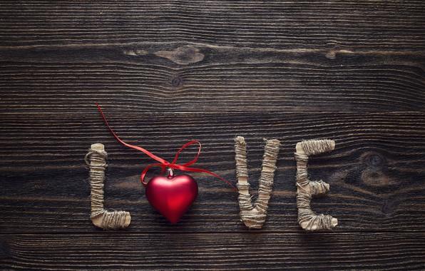 Картинка любовь, сердце, love, heart, wood, romantic, Valentine's Day