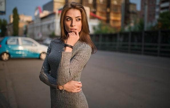 Картинка город, губки, пальчик, Надя, Dmitry Sn, Дмитрий Шульгин