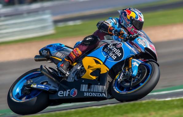 Картинка скорость, мотоцикл, Honda, MotoGP, мотоспорт, мотогонки, British Grand Prix Silverstone 2017, Jack Miller